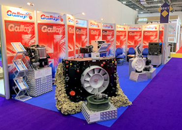 Gallay at DSEi Exhibition